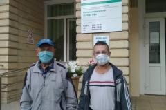 В п-ку 46 привезли Сидорова А. на ВК по оформлению в интернат, Егорова С. на прием к врачу инфекционисту