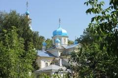 Храм летом
