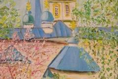 Крестовоздвиженская церковь. Детский рисунок