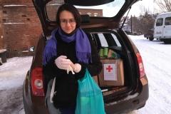 Помощь Красного креста перед Новым годом