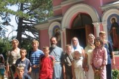 В монастыре крым