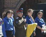 Следопыты отряда «Преображение» приняли участие в Георгиевском параде в Москве