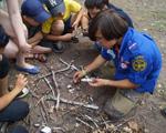 Уфимские скауты провели игру по безопасности в детском лагере