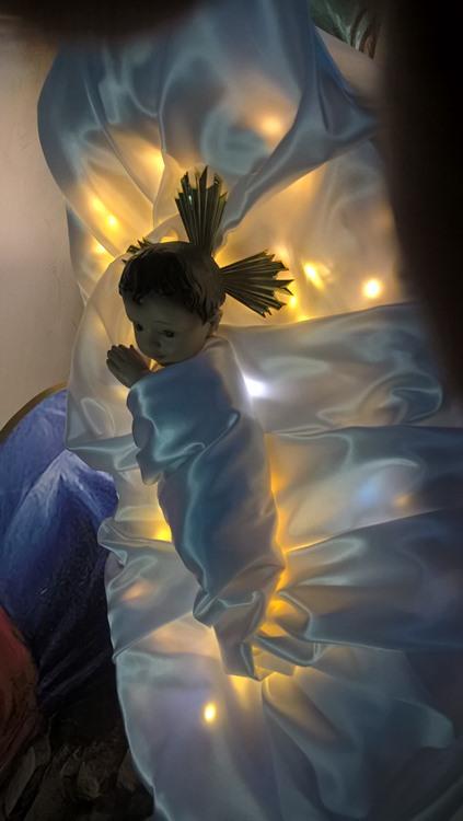 рождественский вертеп в храме 3