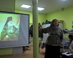 Встреча с православным краеведом, директором библиотеки в приюте