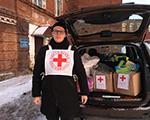 Волонтеры Красного Креста посетили приют для бездомных
