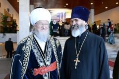 С верхоным муфтием ДУМЕС Талгатом Таджутдином