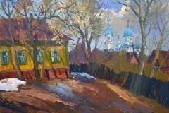 Ахметшин Р.. Пейзаж с Нижегородским храмом