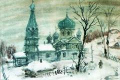 И.Валитов.Крестовоздвиженская. церковь.